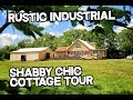 Cabin for sale in Kentucky - Rustic Industrial Chic decor - Shabby Chic - Cottage Style house Tour