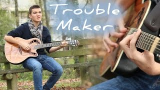 """TroubleMaker"" - Olly Murs ft. Flo Rida - Amaury David Cover"