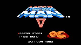MegaMan 5 Casual Playthrough Livestream