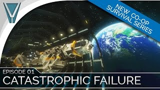 Survival Co-op Ep 01: Catastrophic Failure [Space Engineers]