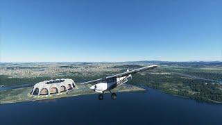 ESCAPING NORTH KOREA Rogue Pilot Escapes Pyongyang in Microsoft Flight Simulator Gameplay