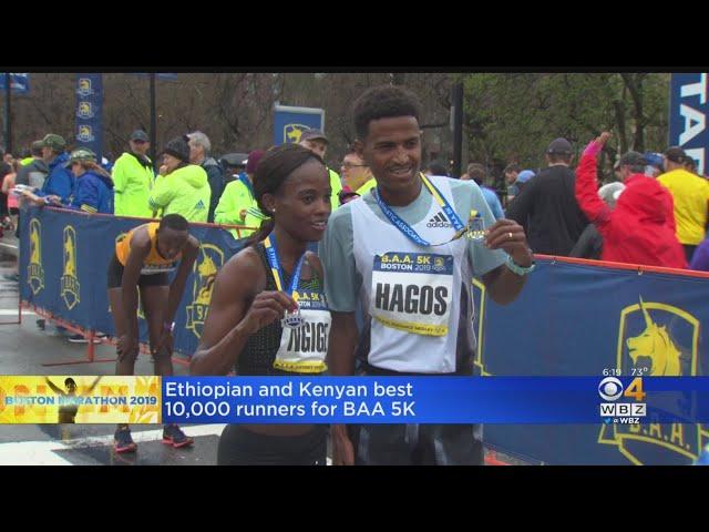 BAA 5K Kicks Off Boston Marathon Weekend