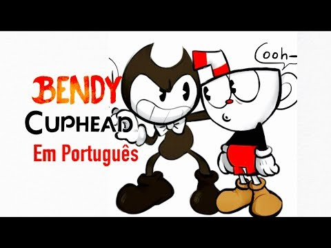 "CUPHEAD - Paródia Bendy ""Build Our Machine"" (em Português)"