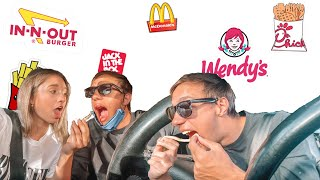 TRYING EVERY FAST FOOD FRENCH FRY!!! Who won??