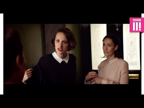 When your Godmother is a b**ch but you can't say anything  Fleabag: Episode 5  BBC Three