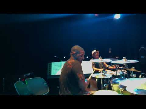 Teddy Campbell on drums in Guatemala August 25th 2017