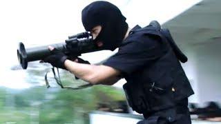 Băng Đảng Tội Phạm Dùng Súng Tên Lửa Để Bắn Đặc Nhiệm Tại Nhà Hoang   Phim Hành Động Võ Thuật