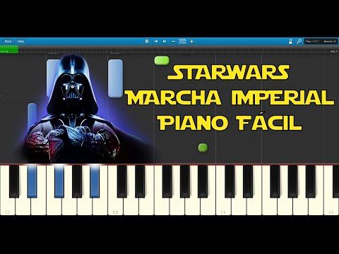 """como-tocar-la-""""-marcha-imperial""""---piano-fácil---partitura-gratis!"""