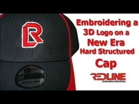 3D Logo on a New Era Structured Cap  6444e898b2f