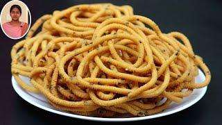 வேர்க்கடலை இருந்தா இப்பவே இதுபோல முறுக்கு செஞ்சி பாருங்க | Snacks Recipes in Tamil