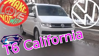 Volkswagen T6 California // Лучшее авто для путешествий / Тест-драйв и обзор VW...