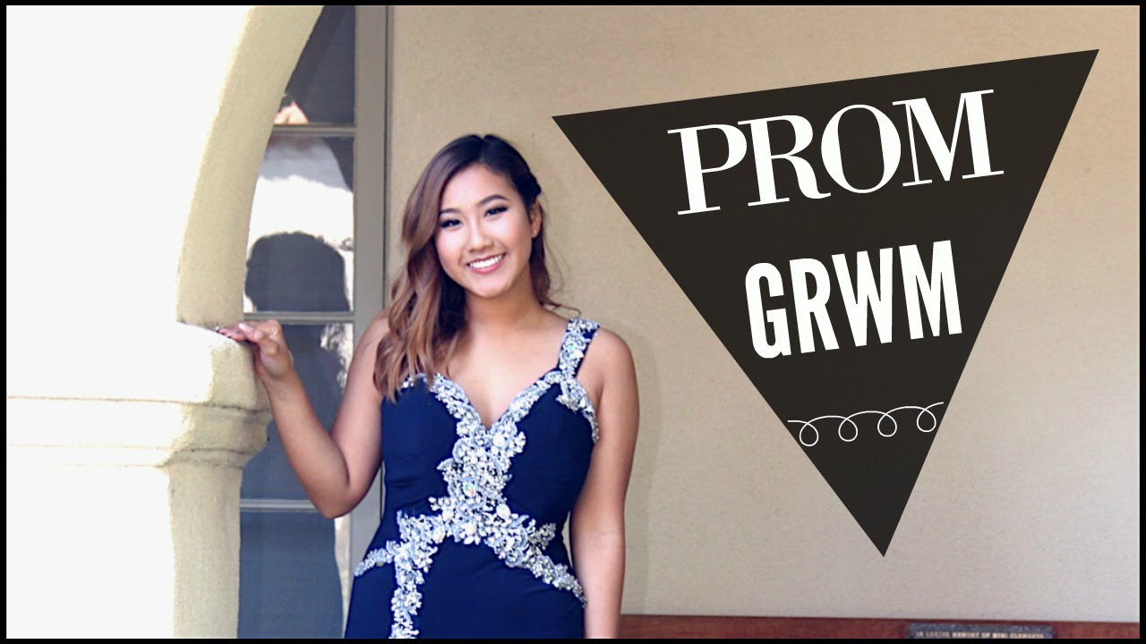 Get prom ready with me hair makeup dress - Get Prom Ready With Me Hair Makeup Dress 8