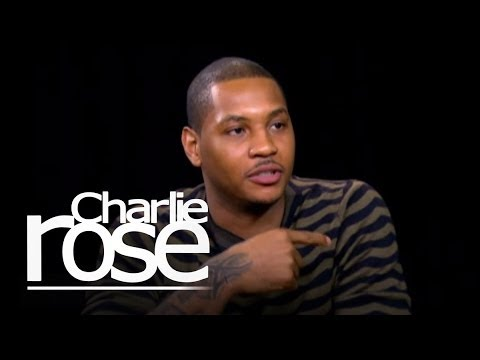 Carmelo Anthony on Shooting | Charlie Rose