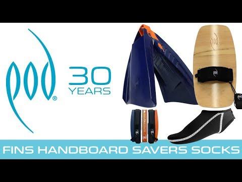 Finest Bodysurfing Tools  -  Wood Handboards PF3s Socks Savers