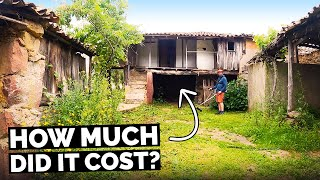 How Much Did We Pay? BUYING A RUIN IN PORTUGAL + Other Costs