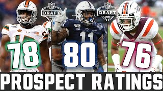 Rating 2021 NFL Draft Prospects (CFB Ratings)