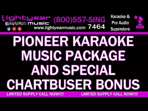 Pioneer Karaoke Music Package Special Chartbuster cd+g Karaoke Music Bonus Lightyearmusic 🎵 4K
