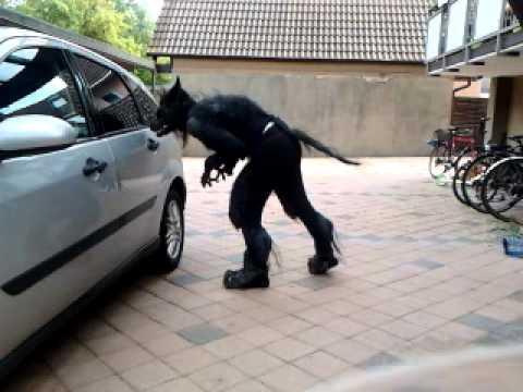 NPC Low Budget Werewolf Costume & NPC Low Budget Werewolf Costume - YouTube