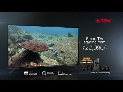 INTEX SMART LED TVC 50 sec