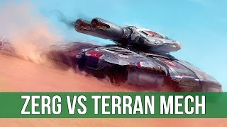 StarCraft 2: Zerg vs Terran Mech! (Legacy of the Void Live Gameplay)