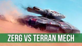 StarCraft 2: Zerg vs Terran Mech! (Legacy of the Void Live Gameplay)