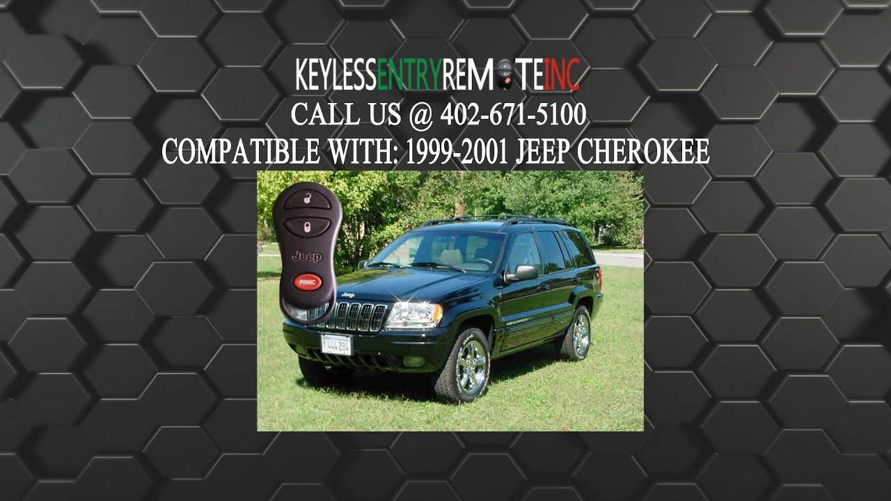 how to replace jeep cherokee key fob battery 1999 2000 2001 youtube