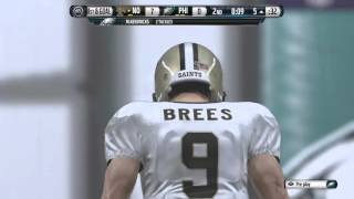 Brees With Poor Clock Management