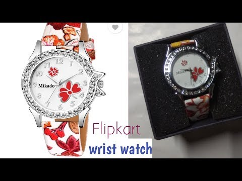 #Flipkart Watch For Girls |#Unboxing Flipkart Wrist Watch|#Wrist Watch Under 250|