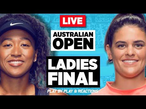 🔴 OSAKA vs BRADY | Australian Open 2021 | LIVE Tennis Play-by-Play