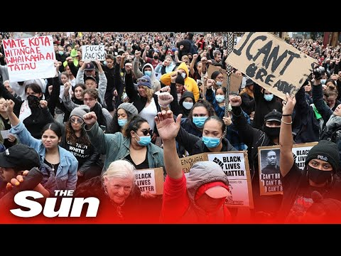 Live: Sydney Black Lives Matter Protesters Call For Justice George Floyd