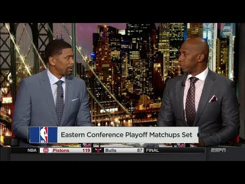 Eastern Conference Playoff matchups Set | NBA Countdown  | April 11, 2018