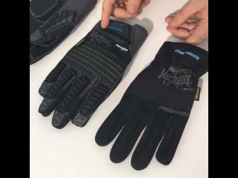 Zimné rukavice od Mechanix Wear (záznam z Live FB) SK