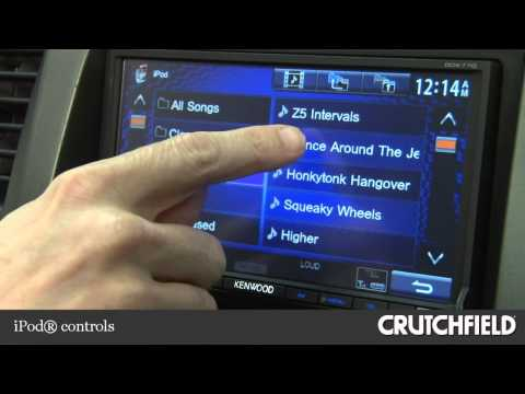 Kenwood DDX770 DVD Receiver Display and Controls Demo | Crutchfield on
