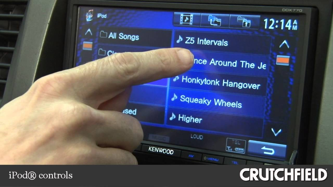Kenwood Ddx770 Dvd Receiver Display And Controls Demo Crutchfield Can Also Give You Model Specific Instructions If Needed Video Youtube
