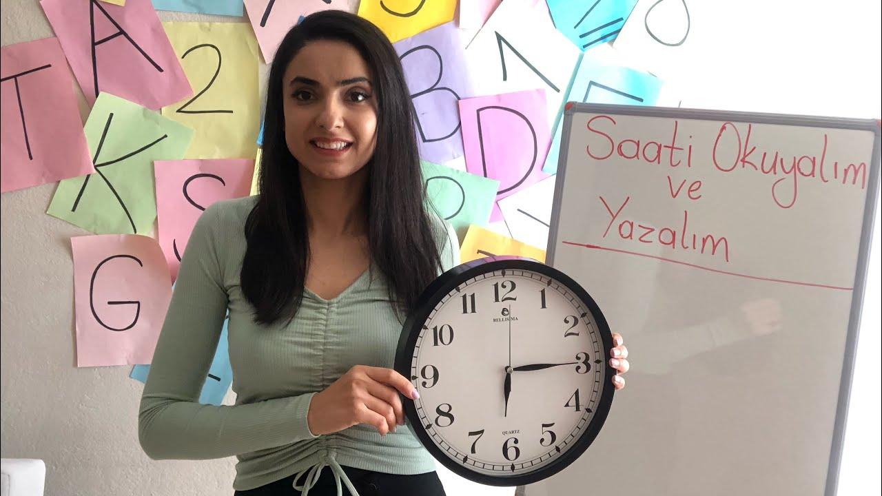 3.sınıf Matematik Tam-Yarım-Öğleden önce-Öğleden sonra Saatler