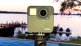 THIS IS ONE BIG GOPRO (GoPro Fusion 360 Camera Unboxing)