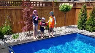 Pool fun tricks!