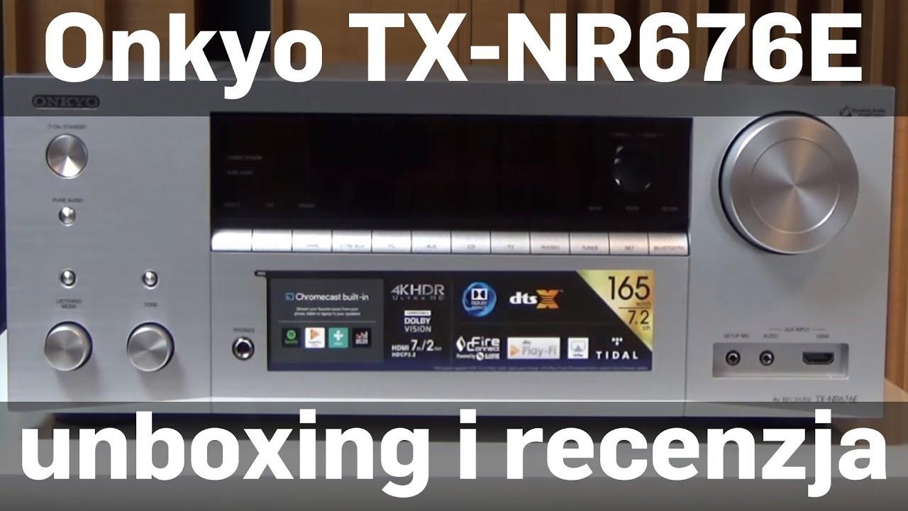 onkyo tx nr676. amplituner onkyo tx-nr676e unboxing/recenzja sklep.rms.pl (english subtitles) tx nr676 a