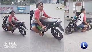 Crush Tara Motor Tayo Angkas Ka Tapos Motor Mo Ganito Funny Videos Compilation