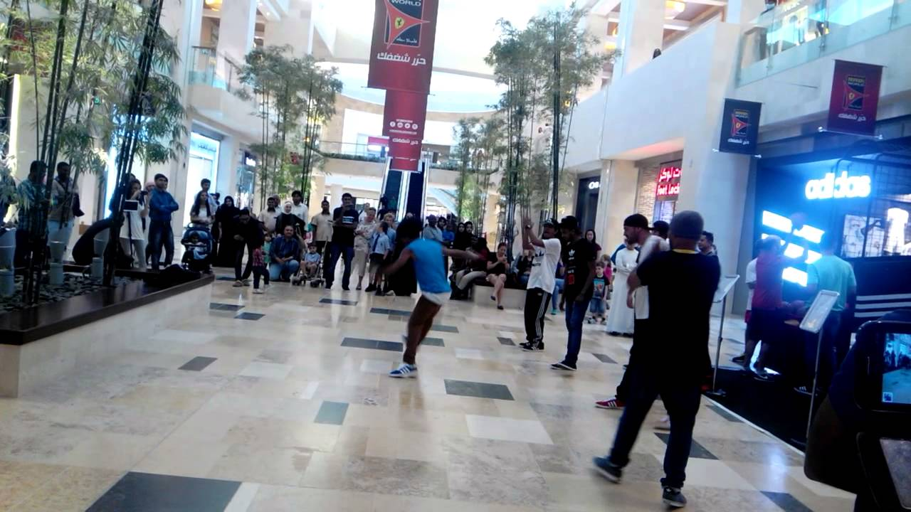Yas mall opening promotion to adidas