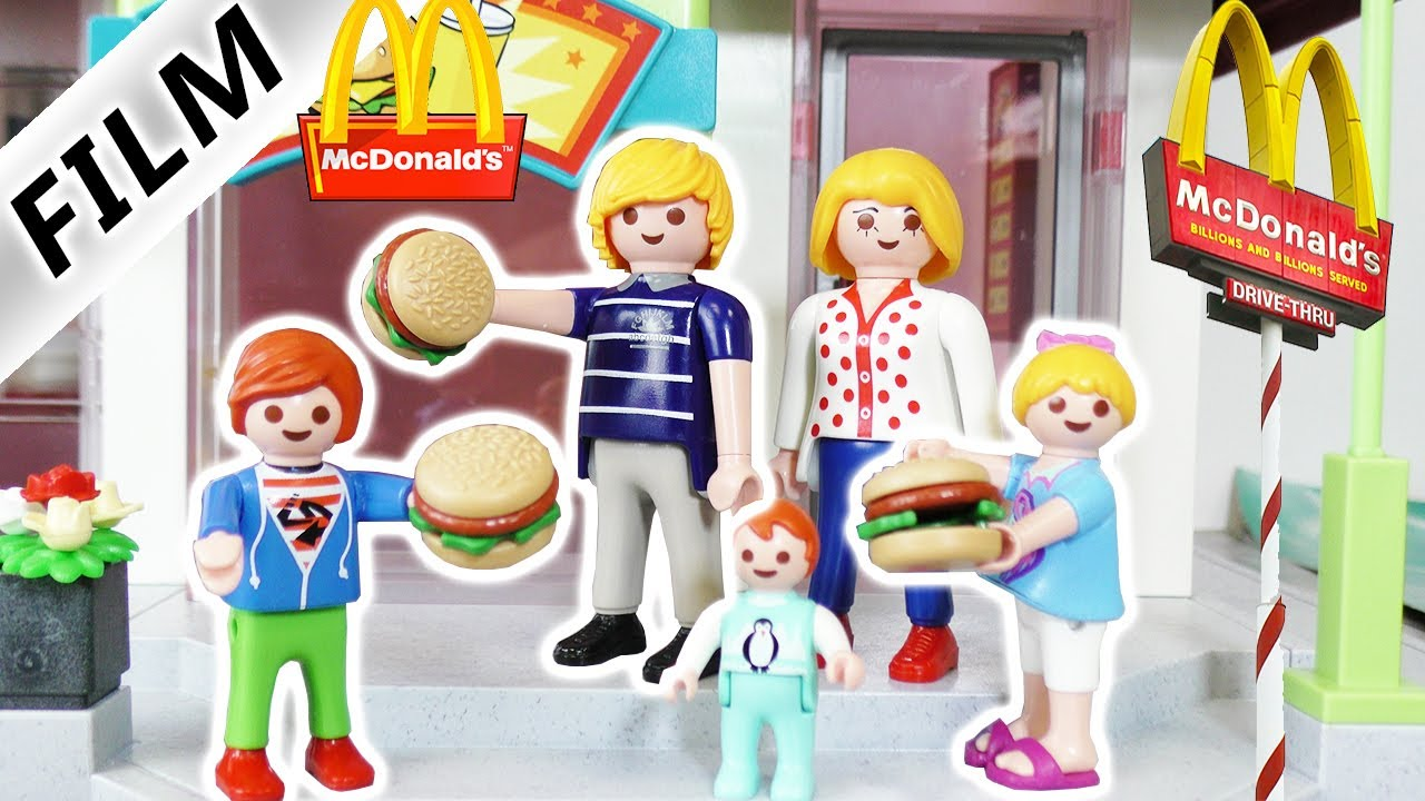 Playmobil film deutsch familie vogel bei mcdonalds