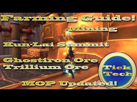 Mining Guide | Ghost Iron, Trillium - Kun-Lai Summit