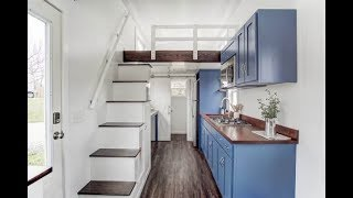 Incredible 24-ft Tiny House With Full Kitchen, Bath, And More...