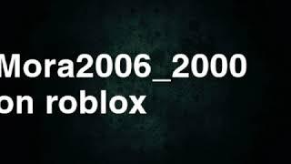 Mora2006_2000 - Roblox diss track