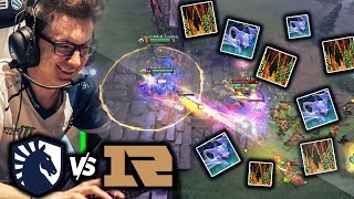 LIQUID Playing The Dirtiest Dota in 2019 vs RNG - Arc Warden + Tiny Combo - Miracle Perspective TI9