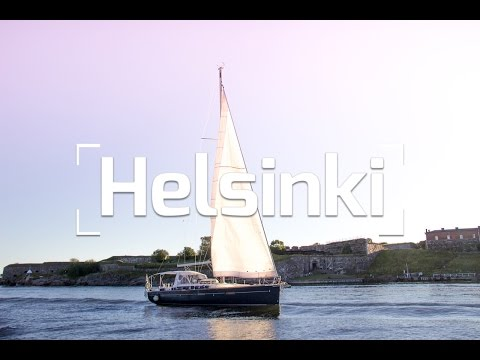 SAILING HELSINKI FINLAND IN A YACHT