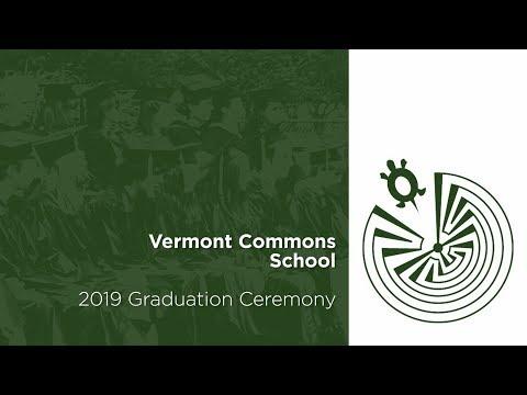 Vermont Commons School 2019 Graduation