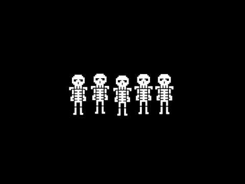 Spooky Scary Skeletons 8 bit
