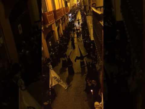 Incidentes en la Madrugá de Sevilla (1)