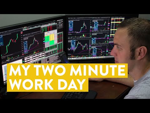 [LIVE] Day Trading | My 2 Minute Workday in the Stock Market